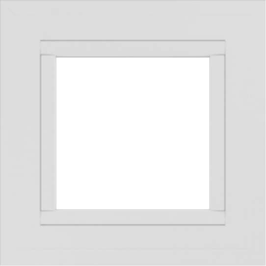 WDMA 18x18 (17.5 x 17.5 inch) Vinyl uPVC White Picture Window without Grids-2