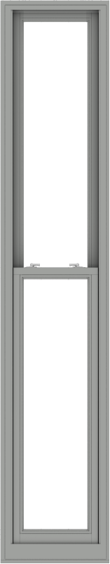 WDMA 20x102 (19.5 x 101.5 inch)  Aluminum Single Double Hung Window without Grids-1