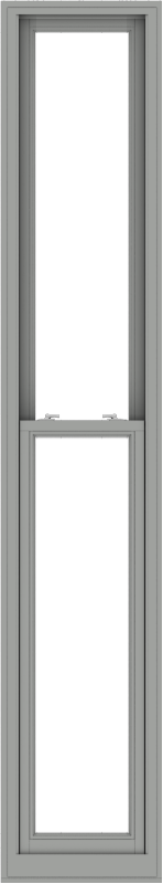 WDMA 20x108 (19.5 x 107.5 inch)  Aluminum Single Double Hung Window without Grids-1