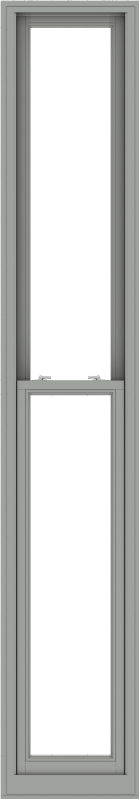 WDMA 20x114 (19.5 x 113.5 inch)  Aluminum Single Double Hung Window without Grids-1