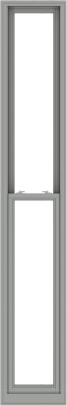WDMA 20x120 (19.5 x 119.5 inch)  Aluminum Single Double Hung Window without Grids-1