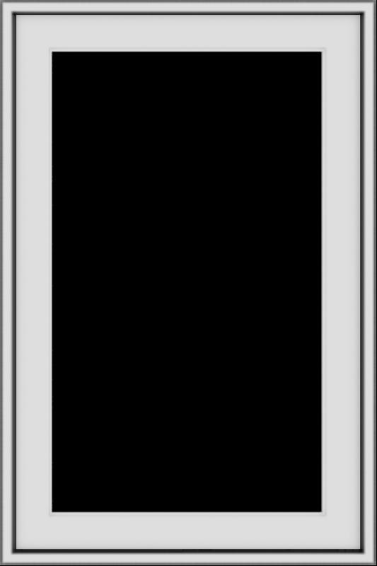 WDMA 20x30 (19.5 x 29.5 inch) Vinyl uPVC White Push out Casement Window without Grids Exterior