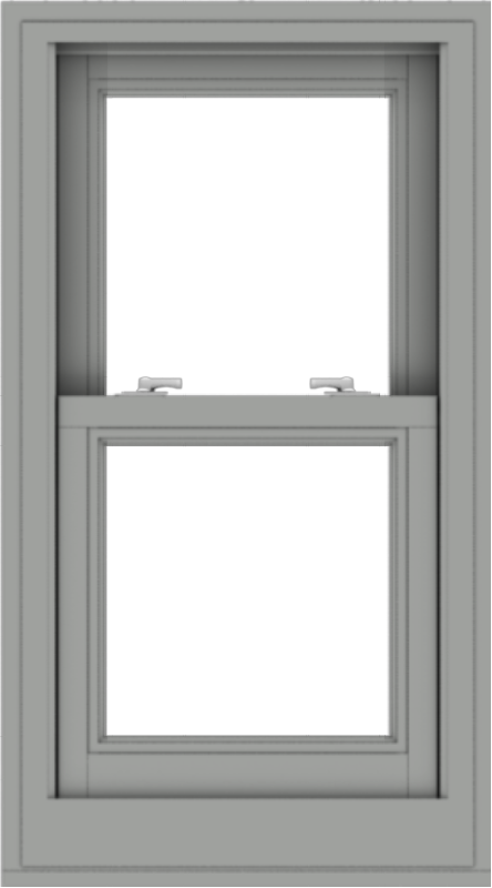WDMA 20x36 (19.5 x 35.5 inch)  Aluminum Single Double Hung Window without Grids-1