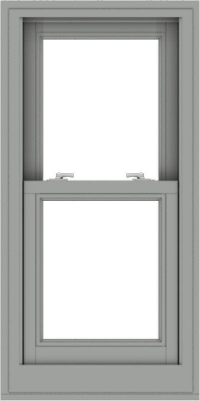 WDMA 20x40 (19.5 x 39.5 inch)  Aluminum Single Double Hung Window without Grids-1