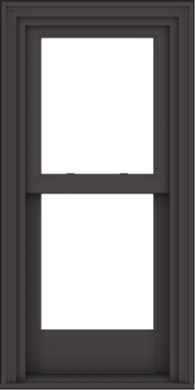 WDMA 20x40 (19.5 x 39.5 inch)  Aluminum Single Hung Double Hung Window without Grids-3