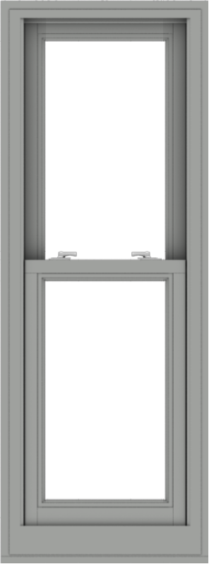 WDMA 20x54 (19.5 x 53.5 inch)  Aluminum Single Double Hung Window without Grids-1
