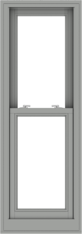 WDMA 20x57 (19.5 x 56.5 inch)  Aluminum Single Double Hung Window without Grids-1