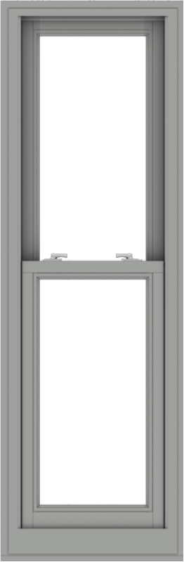 WDMA 20x61 (19.5 x 60.5 inch)  Aluminum Single Double Hung Window without Grids-1