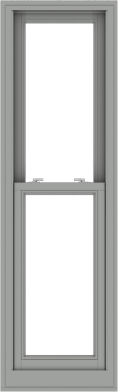 WDMA 20x66 (19.5 x 65.5 inch)  Aluminum Single Double Hung Window without Grids-1