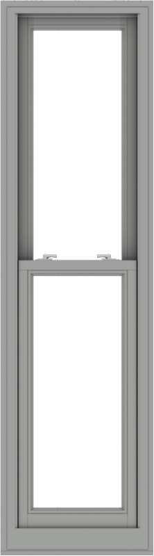 WDMA 20x72 (19.5 x 71.5 inch)  Aluminum Single Double Hung Window without Grids-1