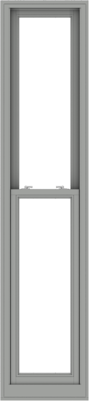 WDMA 20x90 (19.5 x 89.5 inch)  Aluminum Single Double Hung Window without Grids-1