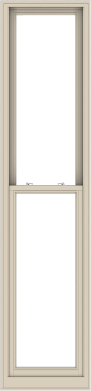 WDMA 24x102 (23.5 x 101.5 inch)  Aluminum Single Hung Double Hung Window without Grids-2