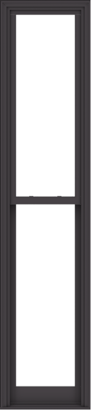 WDMA 24x108 (23.5 x 107.5 inch)  Aluminum Single Hung Double Hung Window without Grids-3