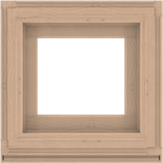 WDMA 24x24 (23.5 x 23.5 inch) Composite Wood Aluminum-Clad Picture Window without Grids-2