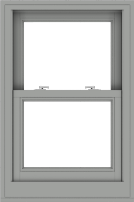 WDMA 24x36 (23.5 x 35.5 inch)  Aluminum Single Double Hung Window without Grids-1