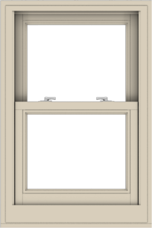 WDMA 24x36 (23.5 x 35.5 inch)  Aluminum Single Hung Double Hung Window without Grids-2