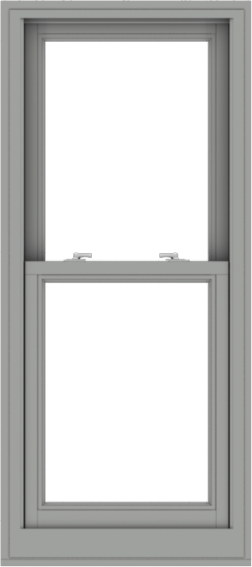 WDMA 24x54 (23.5 x 53.5 inch)  Aluminum Single Double Hung Window without Grids-1