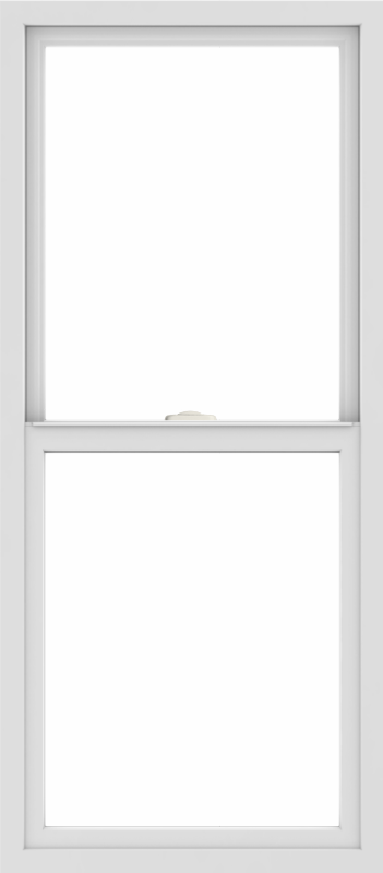 WDMA 24x54 (23.5 x 53.5 inch) Vinyl uPVC White Single Hung Double Hung Window without Grids Interior