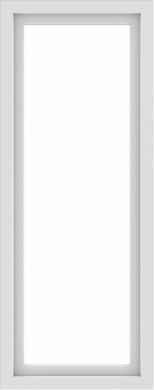 WDMA 24x60 (23.5 x 59.5 inch) Vinyl uPVC White Picture Window without Grids-1