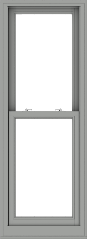 WDMA 24x66 (23.5 x 65.5 inch)  Aluminum Single Double Hung Window without Grids-1