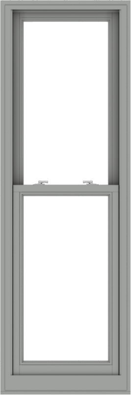 WDMA 24x72 (23.5 x 71.5 inch)  Aluminum Single Double Hung Window without Grids-1