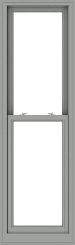 WDMA 24x78 (23.5 x 77.5 inch)  Aluminum Single Double Hung Window without Grids-1