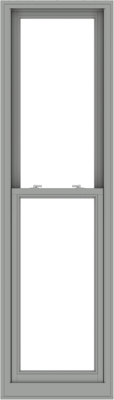 WDMA 24x84 (23.5 x 83.5 inch)  Aluminum Single Double Hung Window without Grids-1