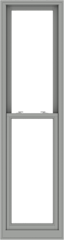WDMA 24x90 (23.5 x 89.5 inch)  Aluminum Single Double Hung Window without Grids-1