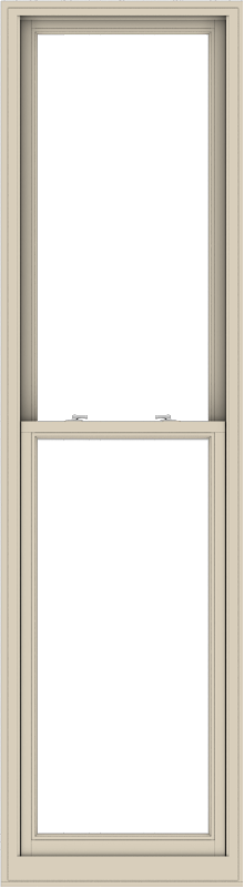 WDMA 28x102 (27.5 x 101.5 inch)  Aluminum Single Hung Double Hung Window without Grids-2