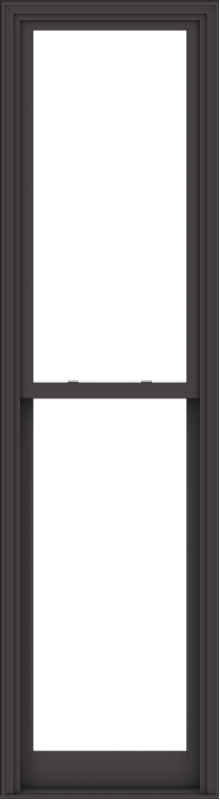WDMA 28x102 (27.5 x 101.5 inch)  Aluminum Single Hung Double Hung Window without Grids-3