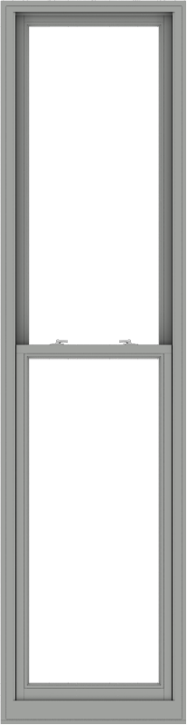 WDMA 28x108 (27.5 x 107.5 inch)  Aluminum Single Double Hung Window without Grids-1