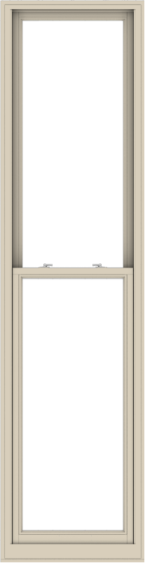 WDMA 28x108 (27.5 x 107.5 inch)  Aluminum Single Hung Double Hung Window without Grids-2