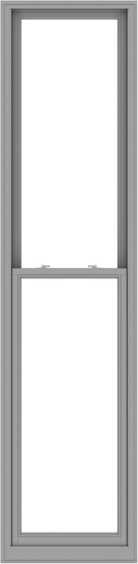 WDMA 28x114 (27.5 x 113.5 inch)  Aluminum Single Double Hung Window without Grids-1