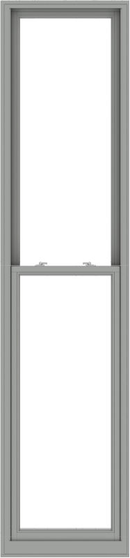 WDMA 28x120 (27.5 x 119.5 inch)  Aluminum Single Double Hung Window without Grids-1