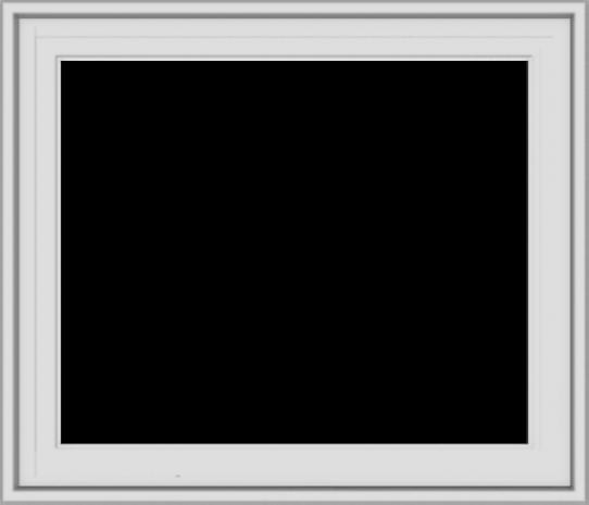 WDMA 28x24 (27.5 x 23.5 inch) White Vinyl uPVC Crank out Casement Window without Grids Exterior