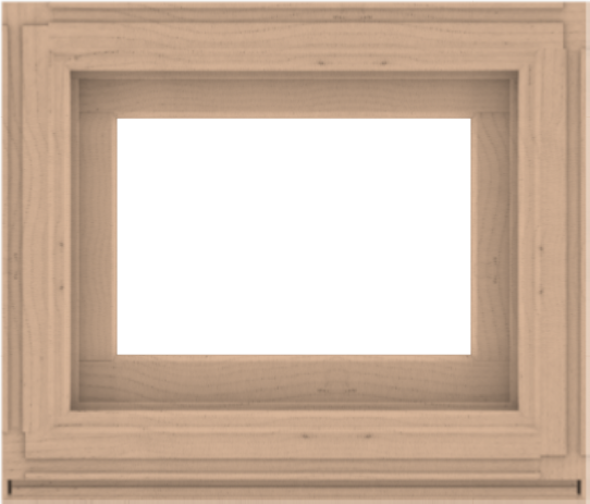 WDMA 28x24 (27.5 x 23.5 inch) Composite Wood Aluminum-Clad Picture Window without Grids-2