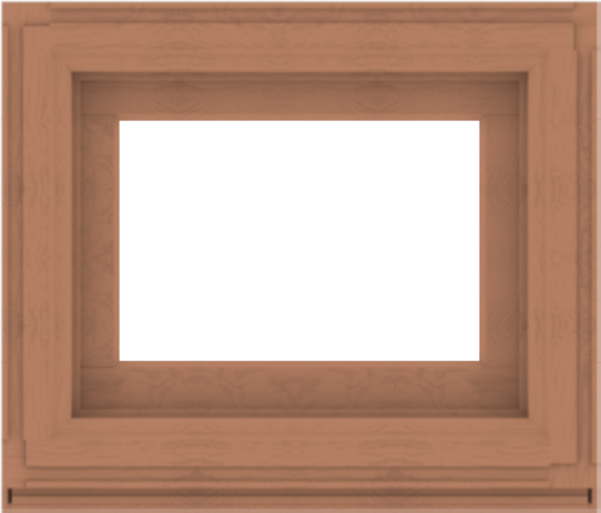 WDMA 28x24 (27.5 x 23.5 inch) Composite Wood Aluminum-Clad Picture Window without Grids-4