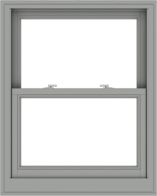WDMA 32x40 (31.5 x 39.5 inch)  Aluminum Single Double Hung Window without Grids-1