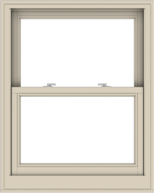 WDMA 32x40 (31.5 x 39.5 inch)  Aluminum Single Hung Double Hung Window without Grids-2