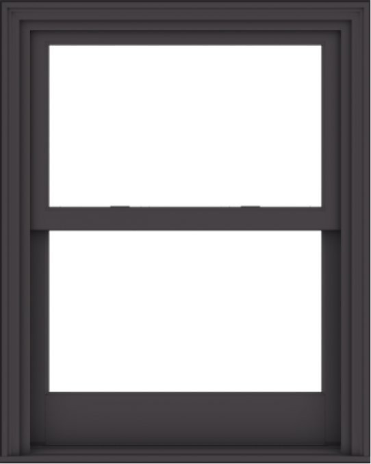 WDMA 32x40 (31.5 x 39.5 inch)  Aluminum Single Hung Double Hung Window without Grids-3