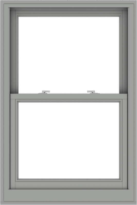 WDMA 32x48 (31.5 x 47.5 inch)  Aluminum Single Double Hung Window without Grids-1