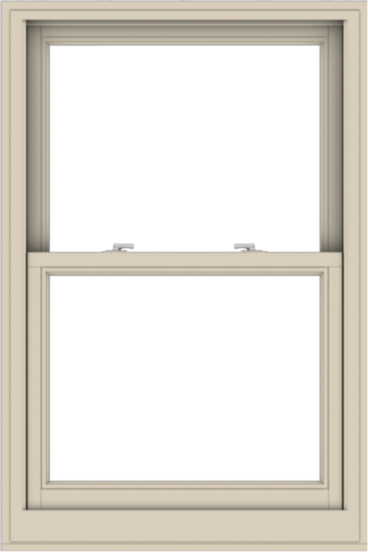 WDMA 32x48 (31.5 x 47.5 inch)  Aluminum Single Hung Double Hung Window without Grids-2