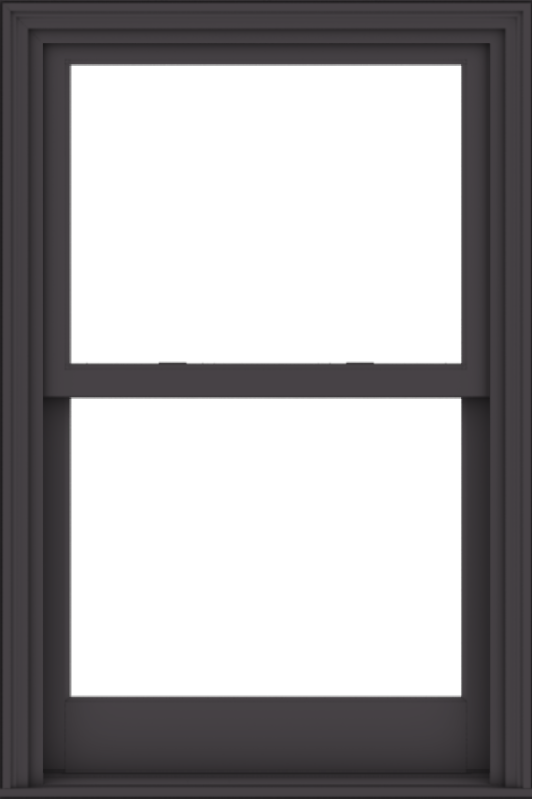 WDMA 32x48 (31.5 x 47.5 inch)  Aluminum Single Hung Double Hung Window without Grids-3