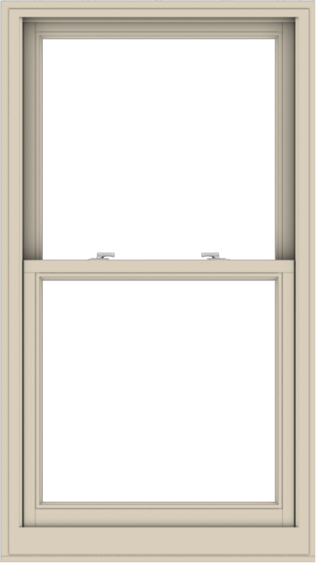 WDMA 32x57 (31.5 x 56.5 inch)  Aluminum Single Hung Double Hung Window without Grids-2
