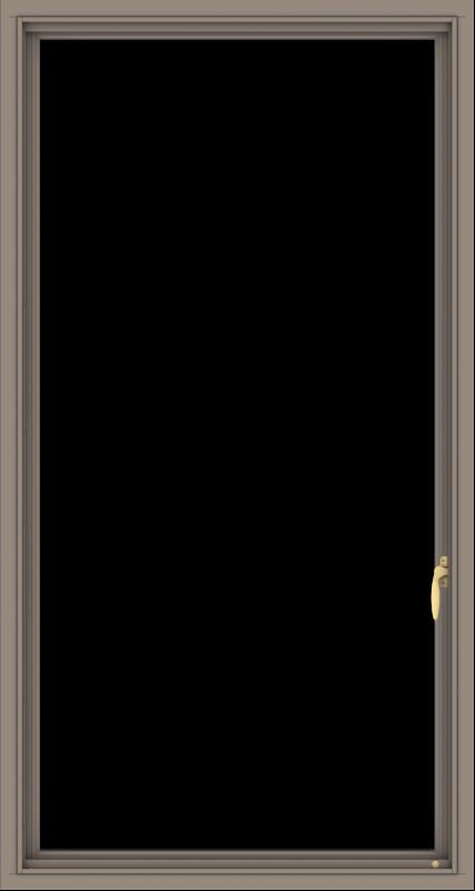 WDMA 32x60 (31.5 x 59.5 inch) Aluminum Frame Grey Brown Bronze Green Blue Push out Casement-1