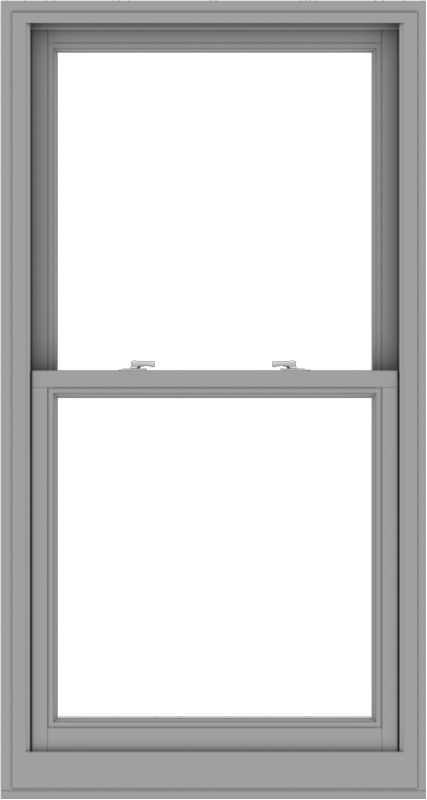 WDMA 32x60 (31.5 x 59.5 inch)  Aluminum Single Double Hung Window without Grids-1