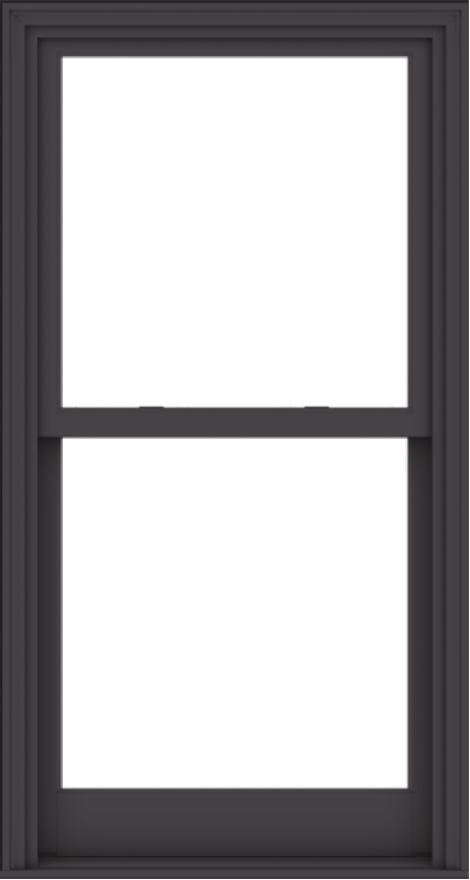 WDMA 32x60 (31.5 x 59.5 inch)  Aluminum Single Hung Double Hung Window without Grids-3