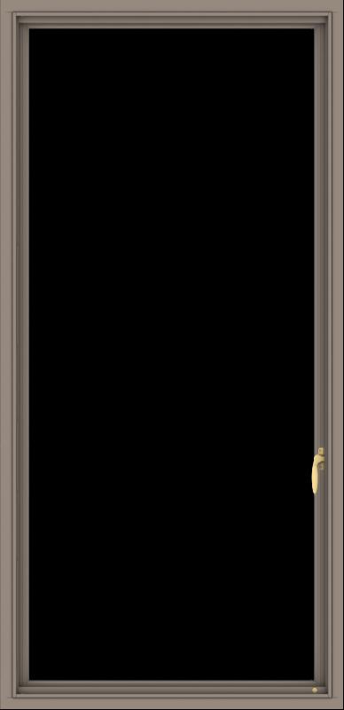 WDMA 32x66 (31.5 x 65.5 inch) Aluminum Frame Grey Brown Bronze Green Blue Push out Casement-1