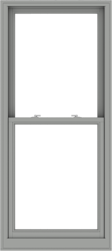 WDMA 32x72 (31.5 x 71.5 inch)  Aluminum Single Double Hung Window without Grids-1