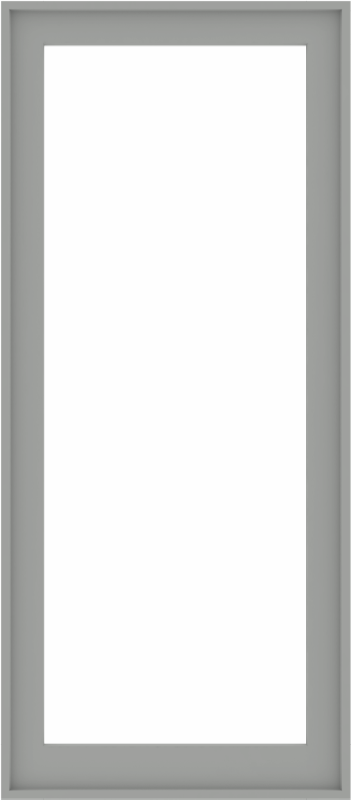 WDMA 32x72 (31.5 x 71.5 inch) Composite Wood Aluminum-Clad Picture Window without Grids-5